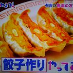 有吉、やってみよう!哀川翔の餃子レシピ!食材や作り方は?【9月16日放送・見逃し】