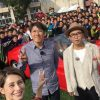 石橋貴明&ダレノガレ&矢作がスーパーカーで青森山田に!生徒も発狂!【とんねるずのみなさんのおかげでした】